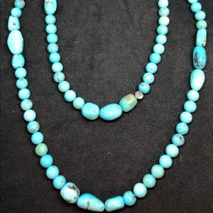 Signed DTR Jay King Turquoise Beaded Necklace